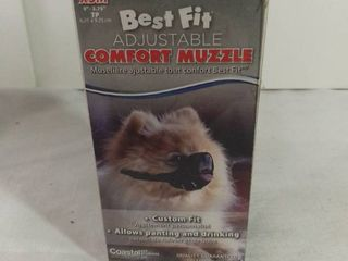 Best Fit Adjustable Comfort Muzzle Custom Fit Size Extra Small