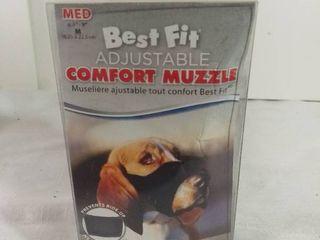 Best Fit Adjustable Comfort Muzzle Custom Fit Size Medium