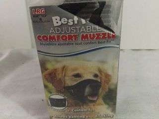 Best Fit Adjustable Comfort Muzzle Custom Fit Size large