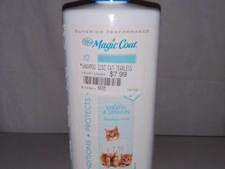 Magic Coat Gentle Tearless Cat Shampoo 12 Ounce Bottle