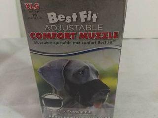 Best Fit Adjustable Comfort Muzzle Custom Fit Size Extra large