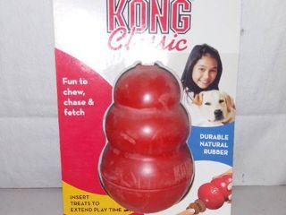 Kong Classics Medium Chew Toy Red
