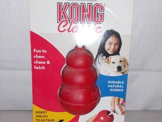 Kong Classics Small Chew Toy Red