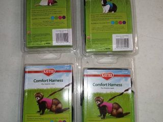 lot Of 4 Small Animal Harnesses