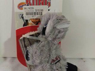 Kong Hiderz Huggz Small Raccoon Squeaker Toy