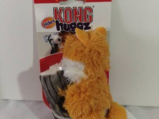 Kong Hiderz Huggz Small Fox Squeaker Toy