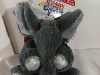 Kong Kiddos Comfort Stuffed Elephant Squeaker Toy