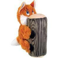 Kong 293046 Huggz Hiderz Fox Toy for Dog   large