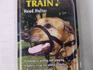 Coastal Pet Products Walk  n Train  06100 BlK04 Dog Head Halter  Size 4  Black