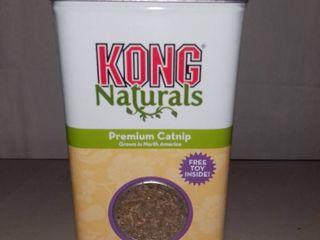Kong Naturals Premium Catnip 2 Ounce Can