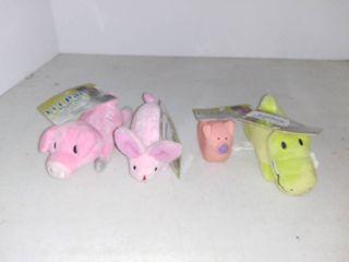 lot Of 4 li l Pals Plush Toys