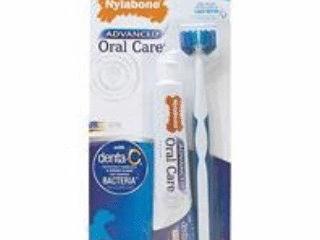 Nylabone Advanced Oral Care Triple Action Dog Dental Kit