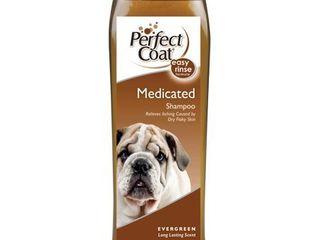 Perfect Coat Medicated Dog Shampoo  16 Ounce