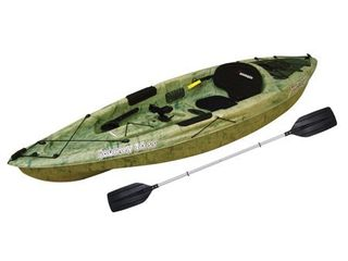 Sun Dolphin Journey 10 Sit on Angler Kayak Grass  Paddle Included