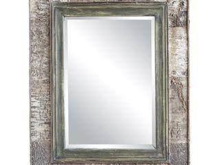 3R Studios Birch Bark Wall Mirror   29 9W x 38 2H in