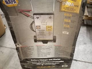 Napa 200A 12 volt battery charger and starter