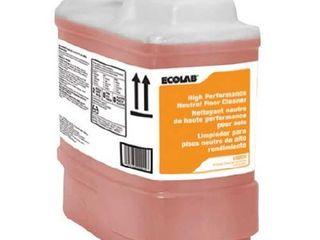 Ecolab liquid Floor Cleaner Sweet Scent 2 5 gal  Container   1 Count