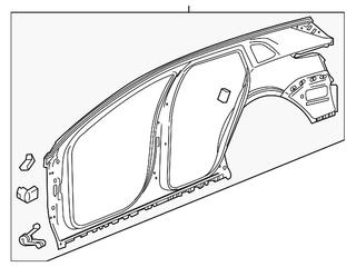 GM Uniside Panel 84607877