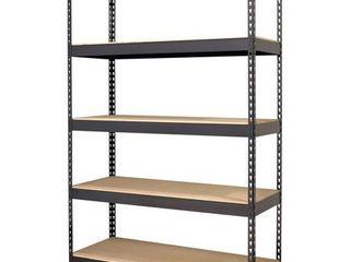 Hirsh Riveted Boltless Shelf Unit  Black