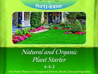 8 bags of Fertilome Natural Guard Natural and Organic Plant Starter Food 4 4 2  4 lbs