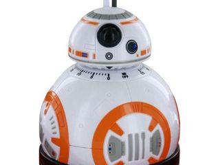 Star Wars Epvii  Sw02722 Kitchen Timer  Bb 8  light And Sound  Orange white