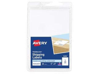 18 packs of 20 Avery AVE5292 Trueblock Technology Shipping labels Pack of 20