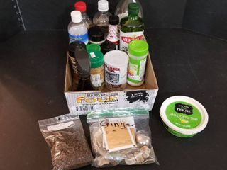 Assorted cooking products
