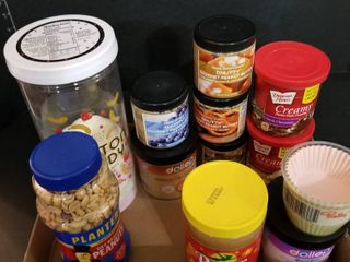 Assorted food items