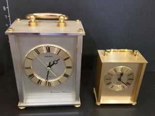 Seiko Westminster Whittington and Seth Thomas clocks