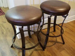 Barstools set of 2 each 24  tall