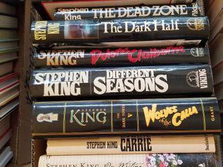 Stephen King hardbacks books
