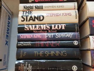 Stephen Kinghardbacks books