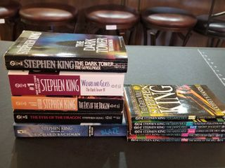 Stephen King paperback books
