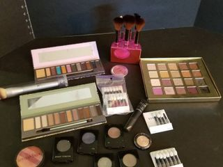 Merle Norman and Mally eye shadows and brushes