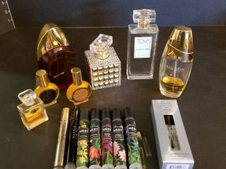 Marilyn Miglin  Tova  Beautiful  Julep  Nest  Scent of a Woman  and Realm colognes