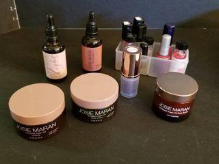 Josie Maran lotions oils and polish