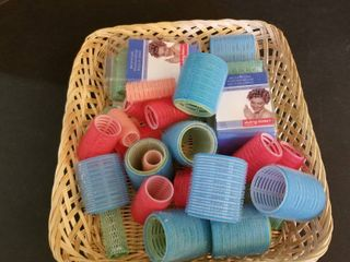 Assorted curlers