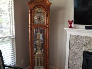Howard Miller grandfather clock 84 x 50 x 12