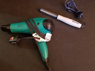 Revlon hair dryer and curling iron