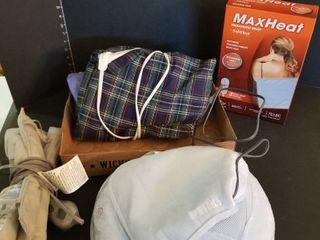 Homedics massager and heating pads