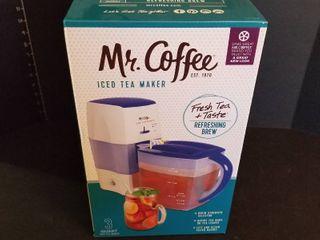 Mr Coffee ice tea maker  new