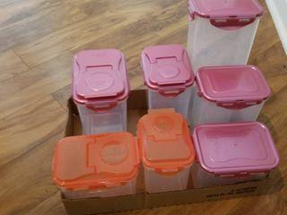 lock   lock Plastic containers