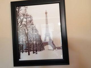 Eiffel Tower framed print 24 x 20