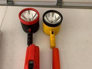 Assorted flashlights