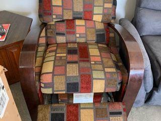 Multicolored recliner