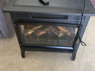 Duraflame stove heater with remote