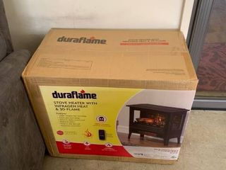 Duraflame stove heater never opened