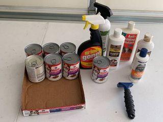 Dog supplies and food