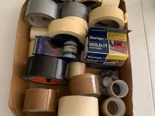 lot of tape