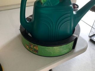 Watering can and edging